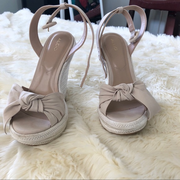 0e56be4432e2 Aldo Shoes - Besch Wedge Sandals.